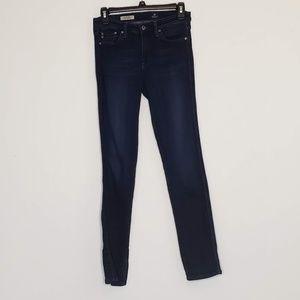 AG the Prima mid-rise cigarette leg jeans 26R